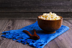 Granular cheese Royalty Free Stock Photo