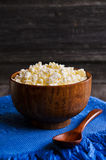 Granular cheese Royalty Free Stock Images