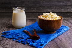 Granular cheese Stock Images