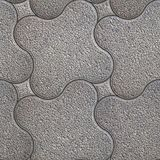 Granular Pavement. Seamless Tileable Texture. Stock Photo