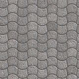 Granular Paving Slabs. Seamless Tileable Texture. Stock Images