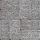 Granular Paving Slabs. Seamless Tileable Texture. Royalty Free Stock Photography