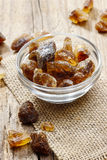 Granulated brown sugar Stock Image