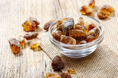 Granulated brown sugar Stock Photography