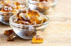 Granulated brown sugar Stock Photography