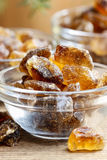Granulated brown sugar Royalty Free Stock Photo
