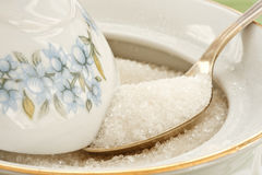 Granulated sugar Royalty Free Stock Image