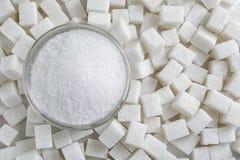 Free Granulated Sugar In Jar Stock Photo - 105335530