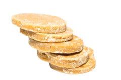 Granulated sugar, sugar not refined, Royalty Free Stock Photography