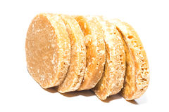 Granulated sugar, sugar not refined, Stock Image
