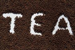 Granulated tea Royalty Free Stock Photos