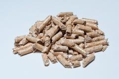 Granule en bois pour la chauffage Photographie stock libre de droits