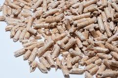 Granule en bois pour la chauffage Images libres de droits