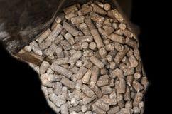 Granule manure Stock Image