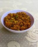 Granules cuits de soja photos libres de droits