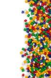 Granules de polymère photos stock