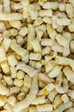 Granules expulsés Image stock