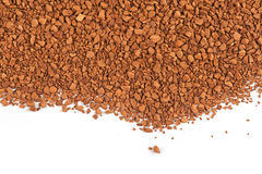Granules of instant coffee Royalty Free Stock Images