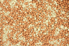 Granules mixed phosphoric fertilizer background. Granules mixed phosphoric fertilizer abstract background Stock Photography