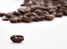 Granuli del Brown di caffè Fotografia Stock