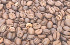 Granuli di Coffe Fotografia Stock