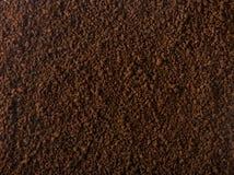 Granulierte Kaffeebeschaffenheit Stockbild