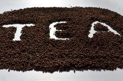 Granulierter Tee stockfoto