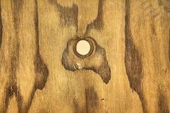Granulo di legno altamente dettagliato Fotografia Stock Libera da Diritti