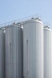 Granulo industriale dell'alloggiamento del silo di agricoltura Fotografie Stock