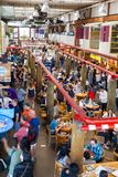 granville海岛市场公共 免版税库存图片