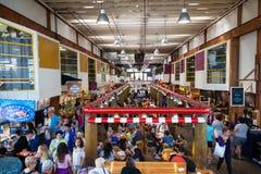 granville海岛市场公共 免版税库存照片