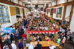 granville海岛市场公共 免版税图库摄影
