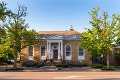 Granville biblioteka publiczna Fotografia Stock