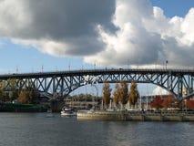 Granville Brücke Vancouver Kanada Lizenzfreie Stockfotos