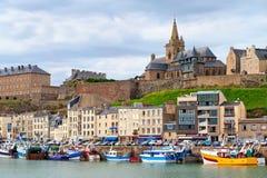 Granville, France Stock Photo