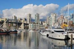 Granville Insel, Vancouver Lizenzfreies Stockfoto