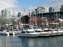 Granville Island 1. Vancouver Granville Island royalty free stock photo
