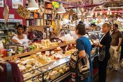 Granville Island Public Market en Vancouver, Canadá Imagen de archivo libre de regalías