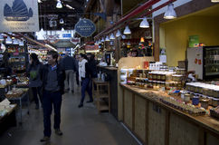 Granville Island Public Market Stock Photo