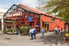 Granville Island Public Market a Vancouver, Canada Fotografia Stock Libera da Diritti