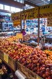 Granville Island Public Market in Vancouver, Canada Stock Photos