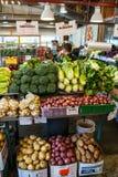 Granville Island Public Market in Vancouver, Kanada Lizenzfreies Stockfoto