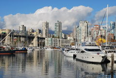 Granville Island, Vancouver Royalty Free Stock Photo