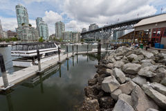 Granville Island in Vancouver Stock Photography