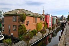 Granville Island, Vancouver, Kanada Stockbild