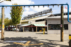 Granville offentlig marknad vancouver västra Kanada Royaltyfria Foton