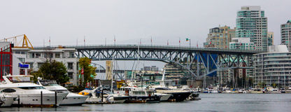 Granville St. Bridge, Vancouver, BC Royalty Free Stock Photography