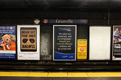 Granville Station, Vancouver, B.C. Royalty Free Stock Image