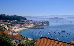 Granxa et le Ria de Pontevedra Photographie stock libre de droits