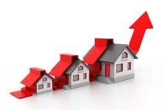 Grap croissant de vente à la maison Image libre de droits
